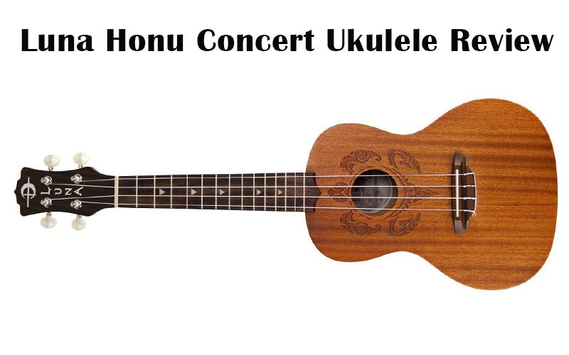 Luna hono concert ukulele
